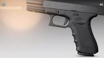 Screenshot of Gun Sounds and Simulator Glock