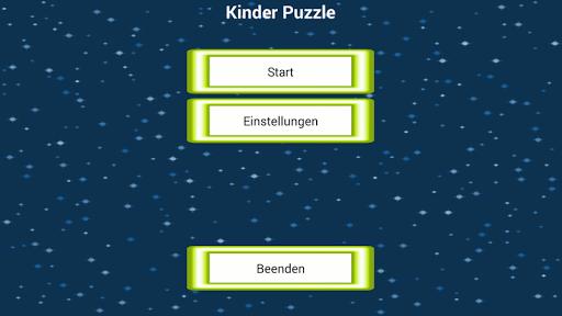 Kinder Puzzle Deutsch
