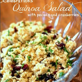 Celebrations Quinoa Salad with Pecans and Cranberries