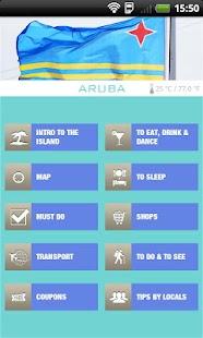 Aruba App- screenshot thumbnail