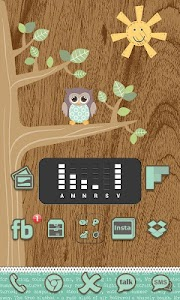 Go Launcher Themes: Hoot screenshot 6