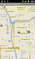 Screenshot of Chicago Transit Tracker Lite