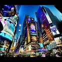 Galaxy New York Live Wallpaper icon