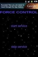 Screenshot of Force Control Free