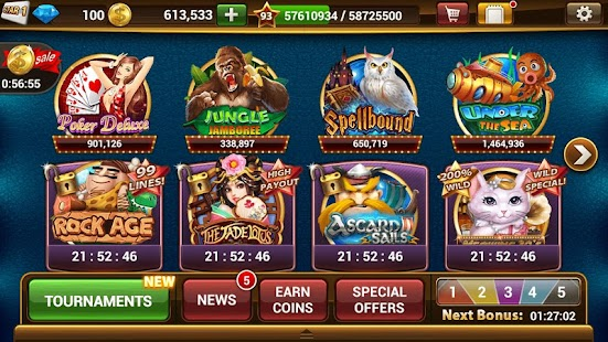 Slot Machines by IGG- screenshot thumbnail
