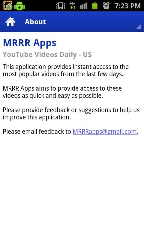 YouTube Videos Daily - screenshot