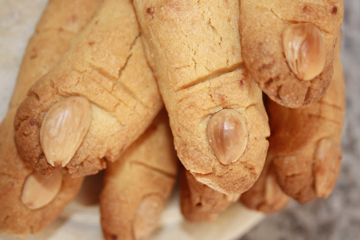 Halloween Finger Cookies Recipe