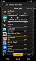 Screenshot of Apps Backup & Restore
