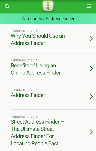 玩免費通訊APP|下載住所ファインダー検索 app不用錢|硬是要APP