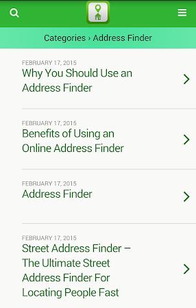 Address Finder Search 1.0 screenshot 10064