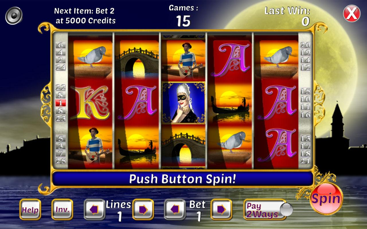 hearts of venice slots for free