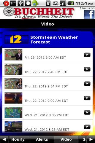KFVS12 StormTeam Weather - screenshot