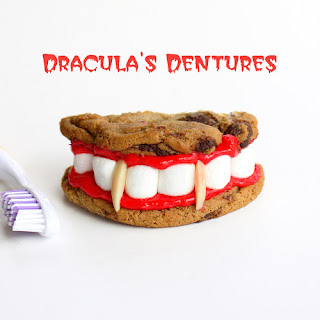 Dracula'S Dentures for Halloween Recipe