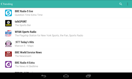 TuneIn Radio Pro - Live Radio Screenshot 29