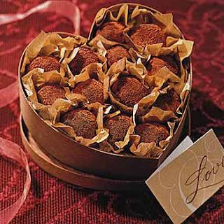 Milk Chocolate-Espresso Truffles