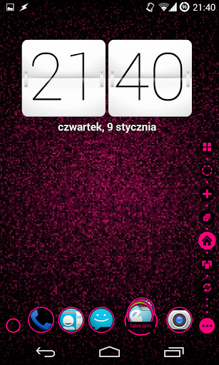 【免費個人化App】TSF Shell Theme Holo Pink-APP點子