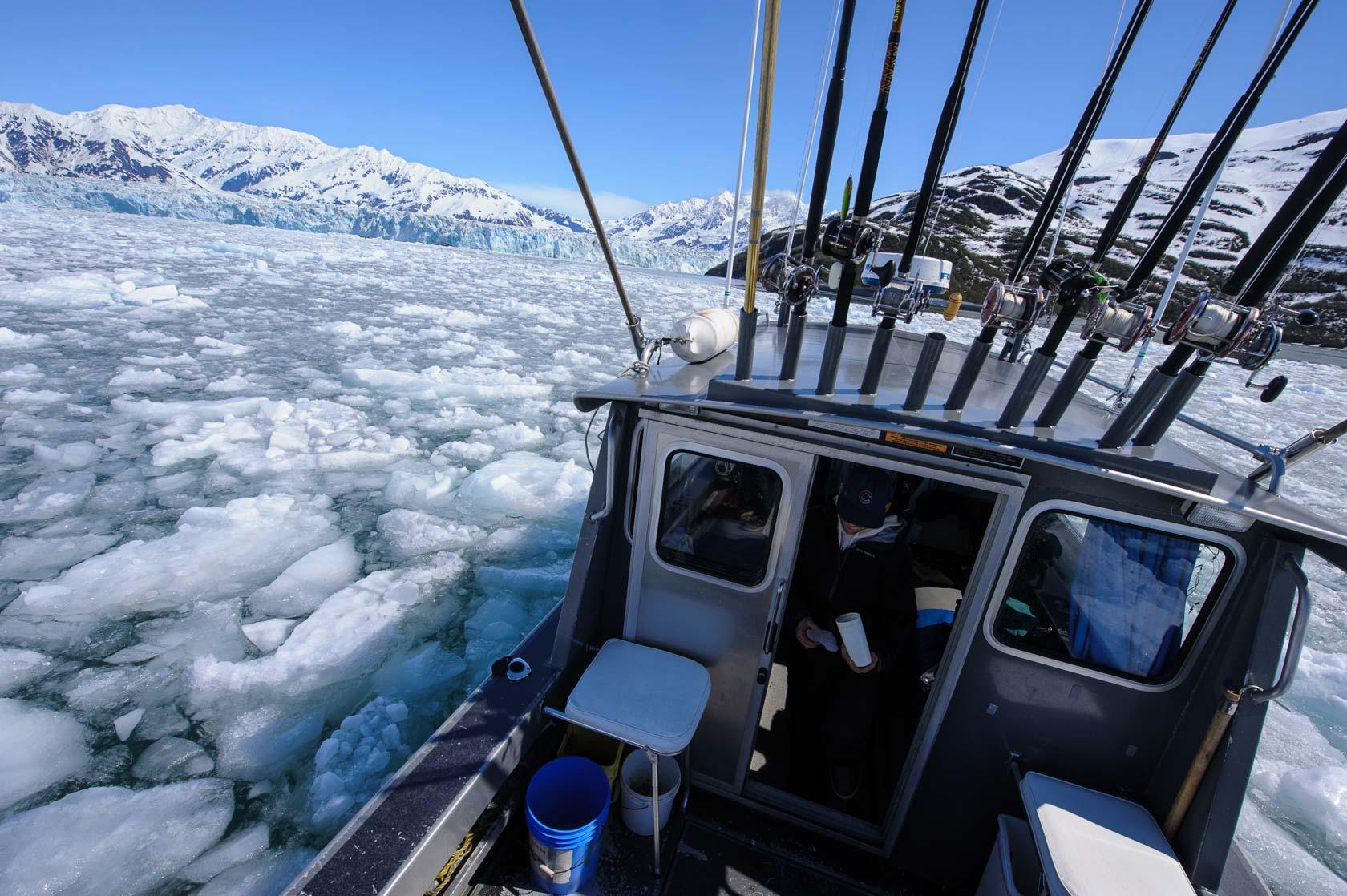 Pushing through Ice, Yakutat Bay