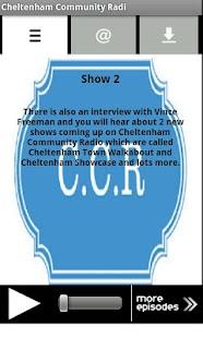 Cheltenham Community Radi- screenshot thumbnail