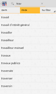 English<>French Dictionary - screenshot thumbnail