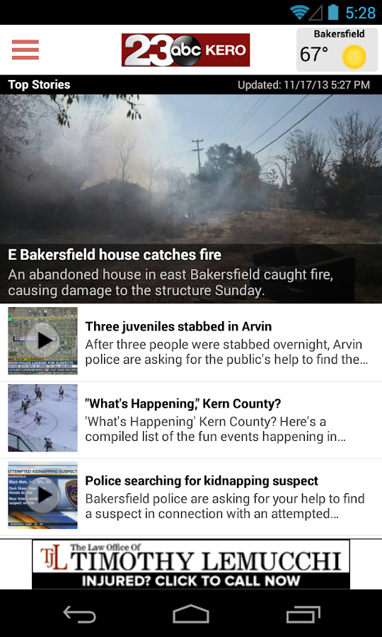 23ABC News Bakersfield - screenshot