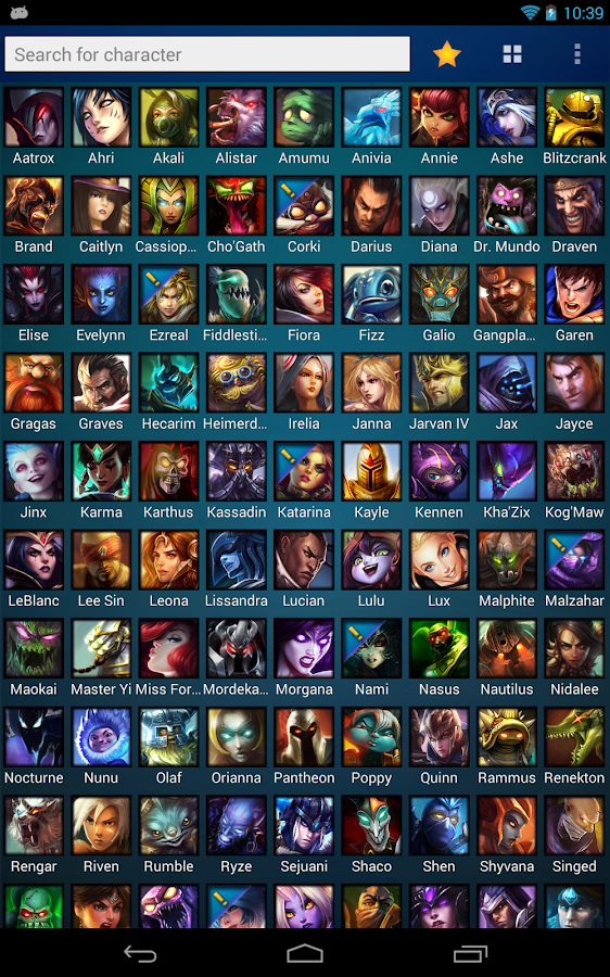MobaDroid League of Legends - screenshot