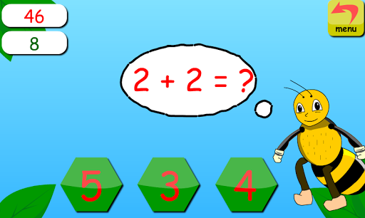 Bee Learning Number And Math 1.0.3 screenshots 1