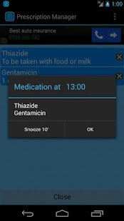 Prescription Manager Free - screenshot thumbnail