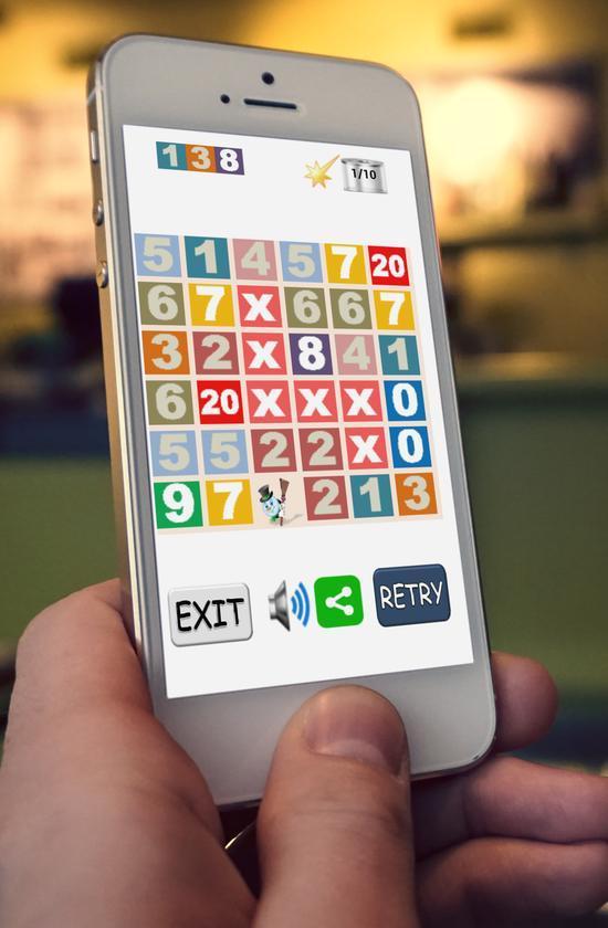 Numbers 1000- screenshot
