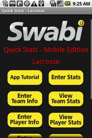 Quick Stats for Lacrosse - screenshot