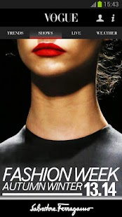 Fashion in Vogue screenshot