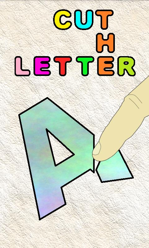 Cut The Letter (No Ads) - screenshot