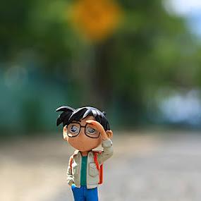 Conan by Fammz Fammudin - Artistic Objects Toys