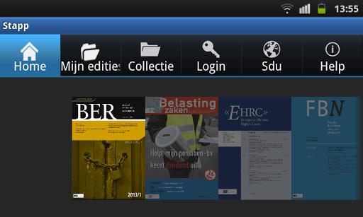 Sdu Tijdschriften App Stapp