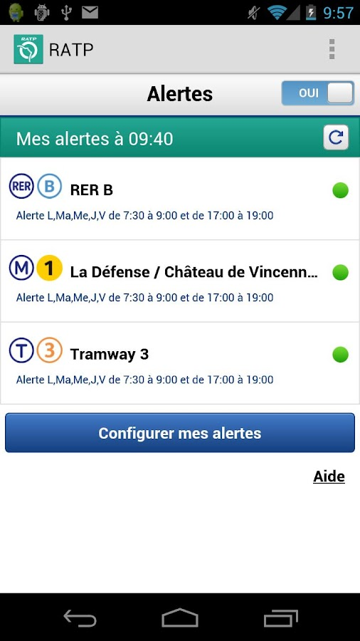 RATP : Subway Paris - screenshot
