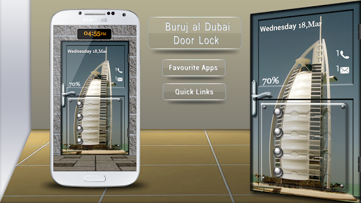 Burj Dubai Door Lock