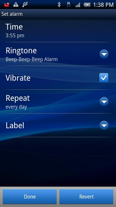 Calgot&Maimai AlarmClockWidget- screenshot