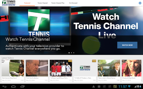 Tennis Channel Everywhere- screenshot thumbnail