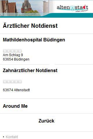 Cityguide Altenstadt - screenshot