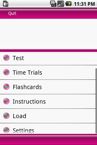 Test Review Cosmetology - screenshot