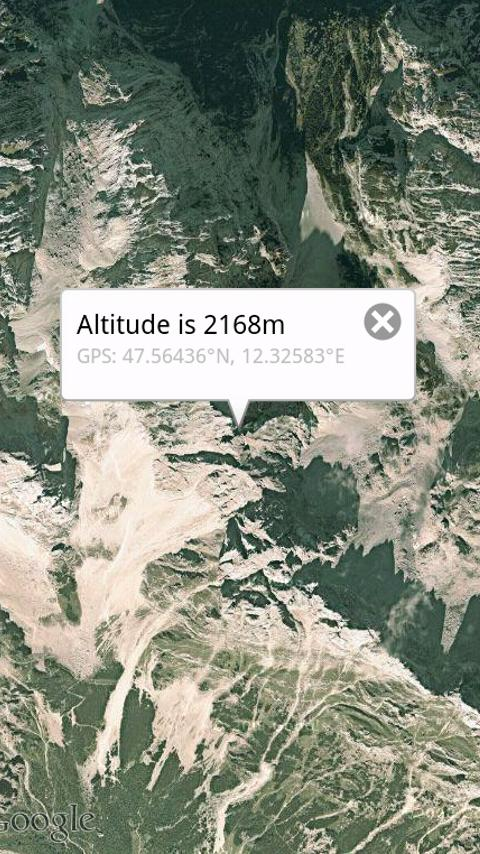 Get Altitude - screenshot