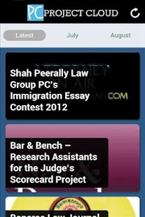 Project Cloud - Law Students - screenshot thumbnail