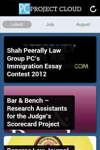Project Cloud - Law Students - screenshot