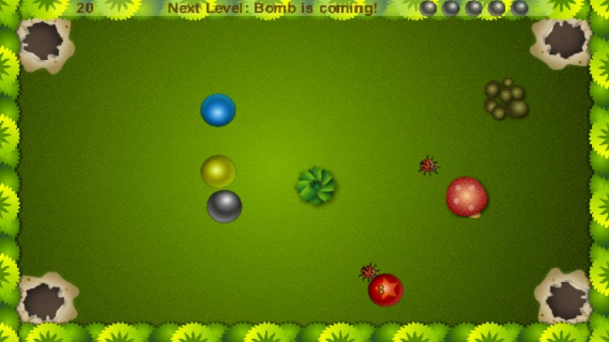 Screenshots for Ladybug and Marble