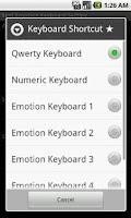 Screenshot of Text Emotion Keyboard