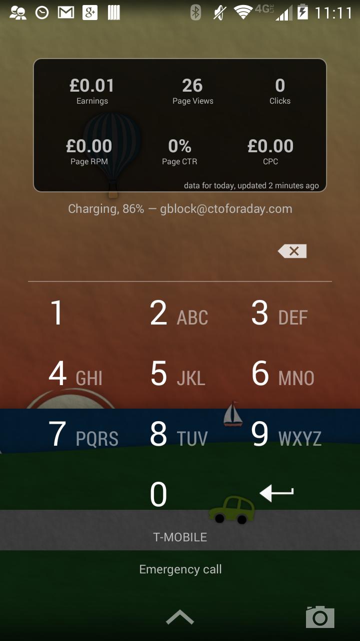 AdSense Dashboard screenshot #14