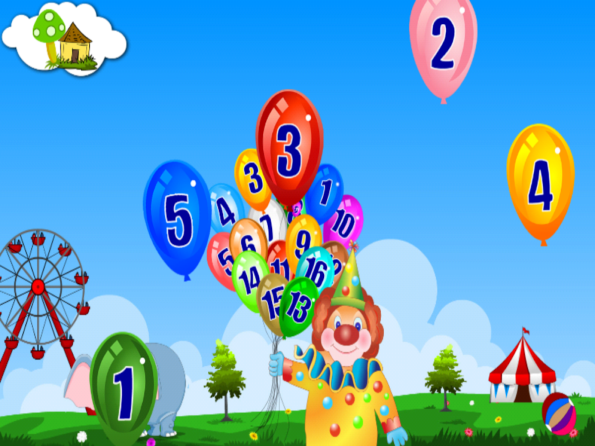 Kidoko Pop The Balloon Free- screenshot