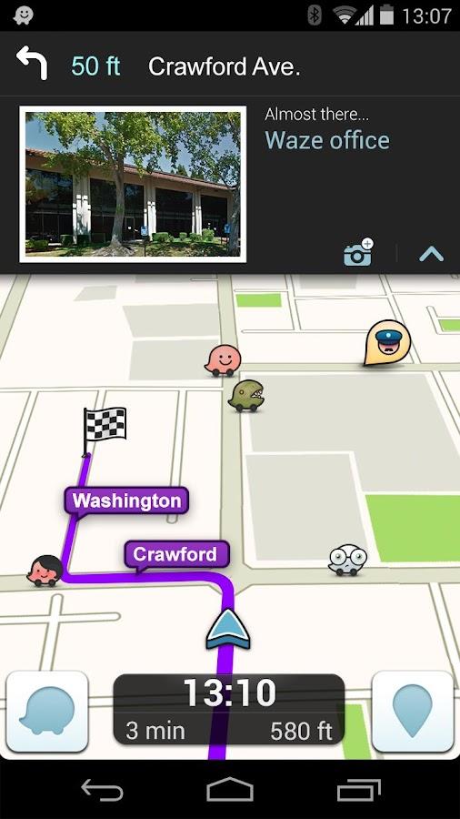 waze social gps maps traffic android rakendused teenuses google play. Black Bedroom Furniture Sets. Home Design Ideas