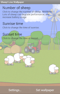 Sheep! Live Wallpaper- screenshot thumbnail