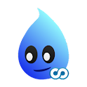 Drippy the Raindrop (ad-free) logo