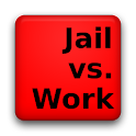 Jail vs Work logo
